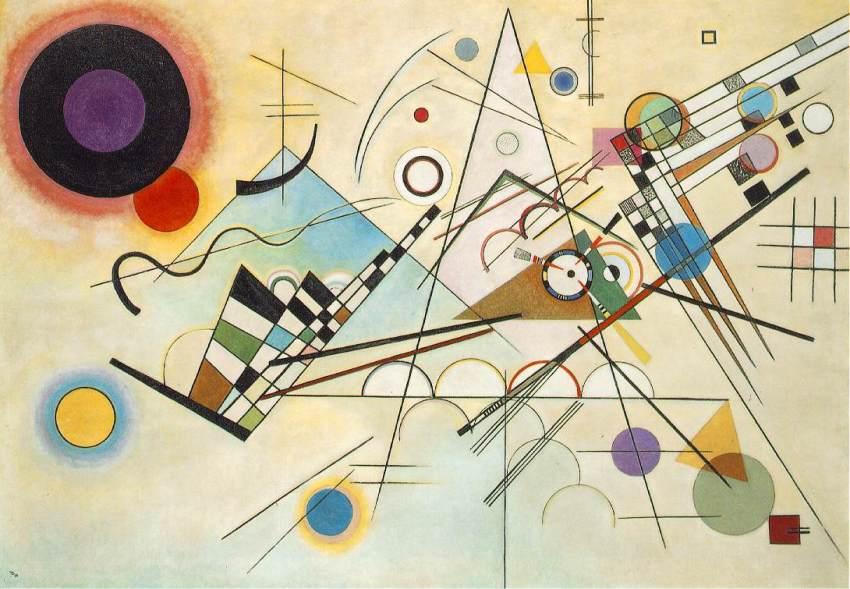 Vassily Kandinski - Komposition VIII