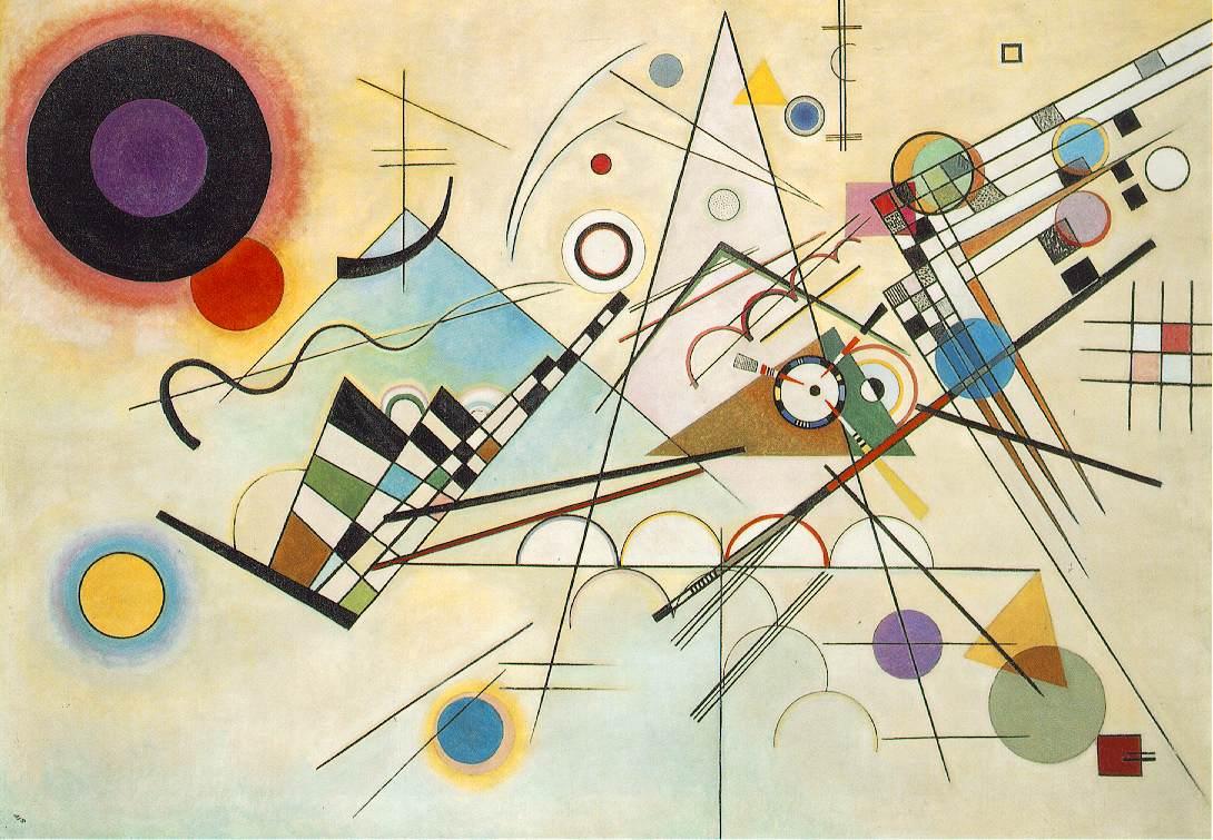 Vassily Kandinski - Komposition 82C