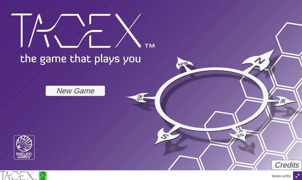Taoex Start Screen