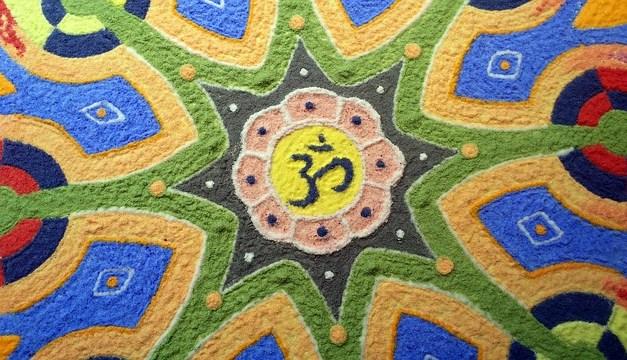 Sandmandala – Das Grenzenlose in ein Bild gefasst