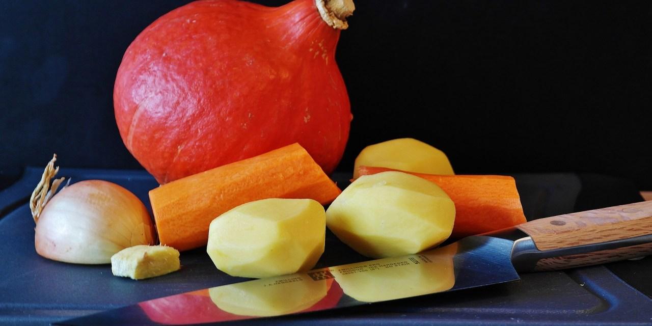 Veganer Kürbis-Kartoffel-Auflauf