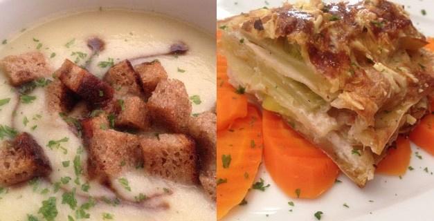 Zwei wärmende vegane Wintergerichte