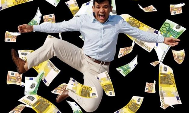 Geld und Freude