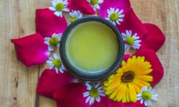 Blüten-Pflegeöl und Balsam