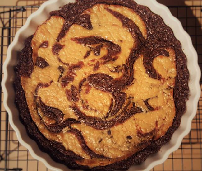 Vegan Cheesecake Brownies