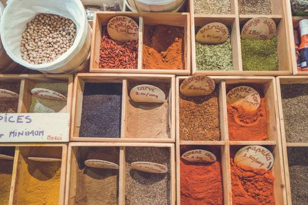 Spices - Food is Information