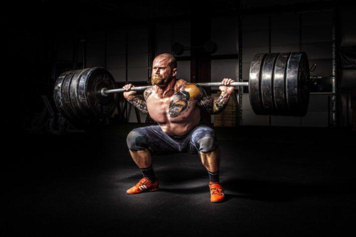 Back Squats - Training Legs