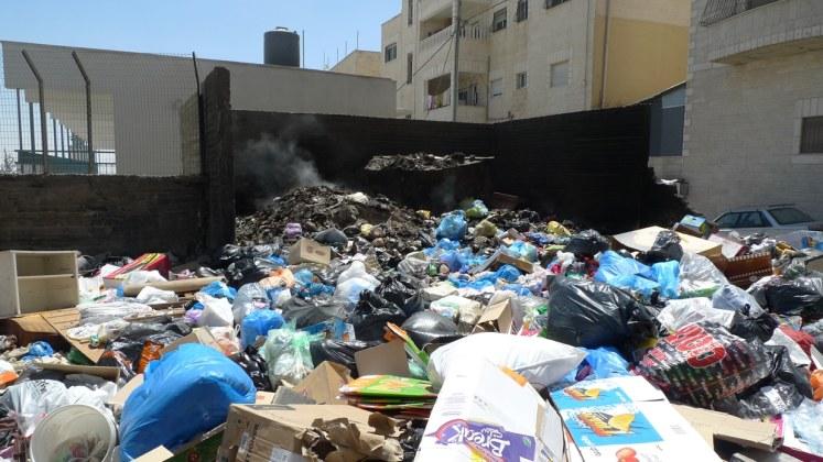 Shuafat garbage