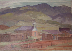 Carl Redin, New Mexico Village