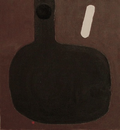 Dark Vessel oil_canvas 30 x 28_ 2004