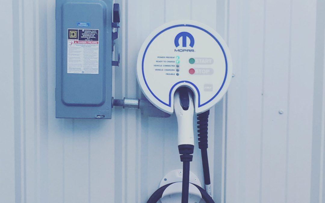 Electric Car Charging Station Now at Fremont Motors Casper