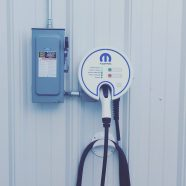 Electric car charger casper