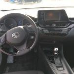 C-HR interior