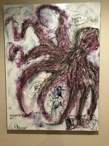 local artist casper octopus