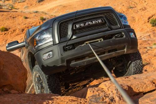 How To Use The Winch On A RAM 2500 Power Wagon - Video