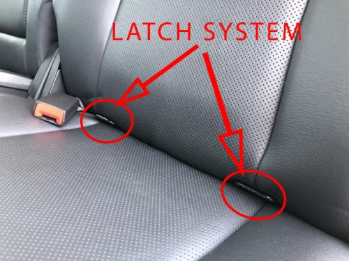 car seat bars restraint truck
