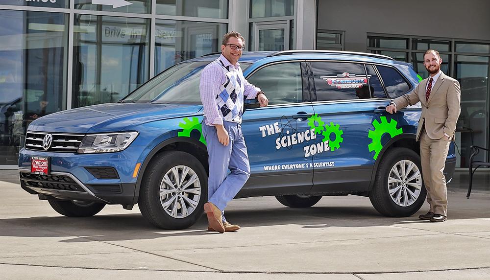 fremont volkswagen helps drive science  casper