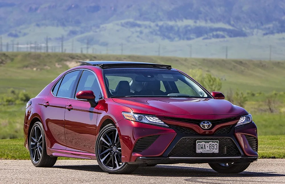 review 2018 toyota camry xse v6 trusted auto professionals. Black Bedroom Furniture Sets. Home Design Ideas