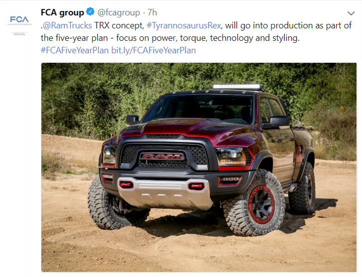 575 hp Supercharged RAM Rebel TRX is happening - Trusted ...