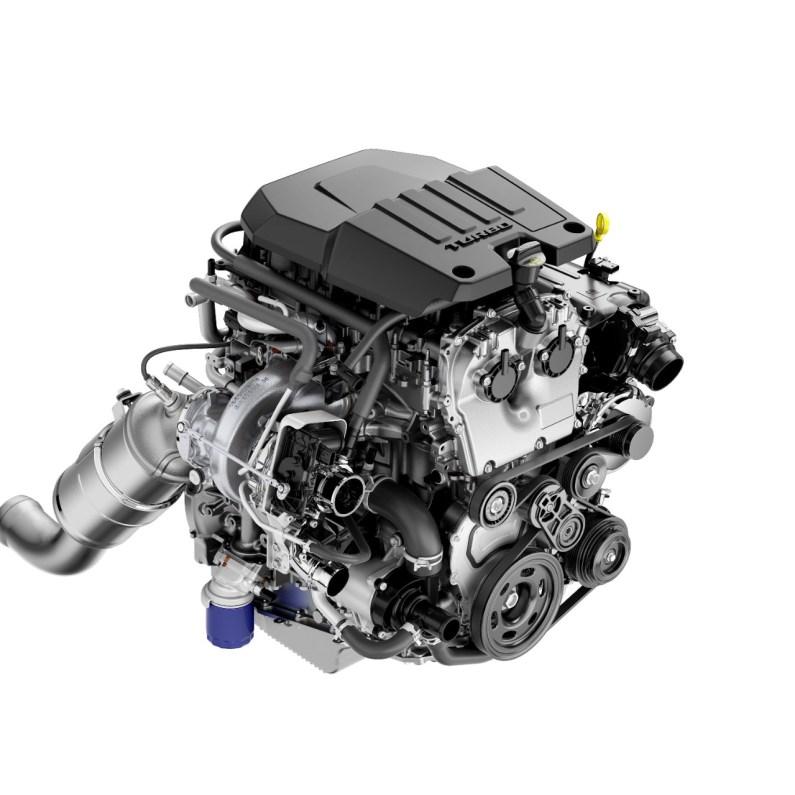 2.7L turbo engine