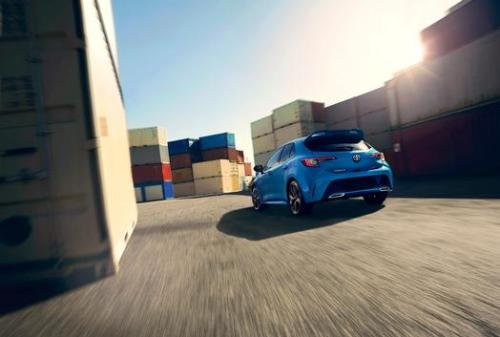 Toyota Hot Hatch in Blue New