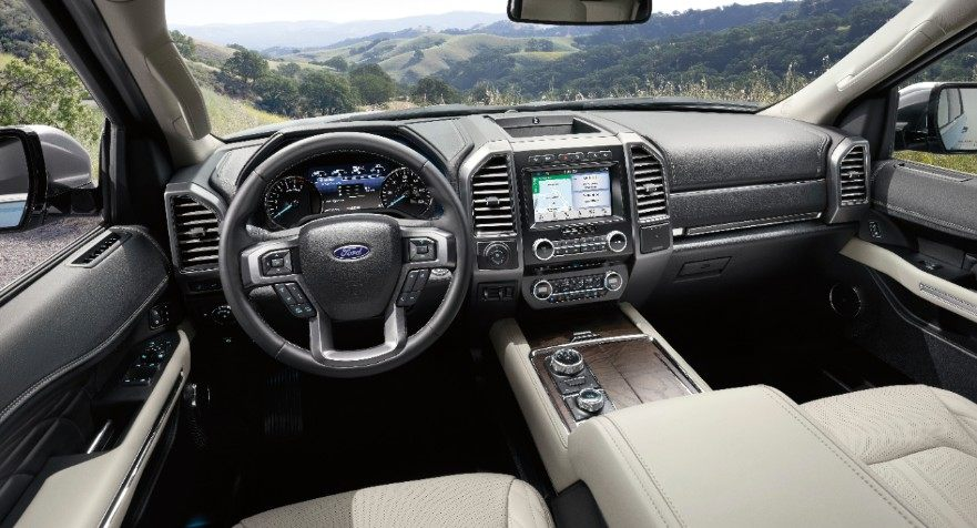 2019 Ford Expedition interior SUV