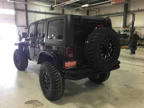 Custom Jeeps Fremont