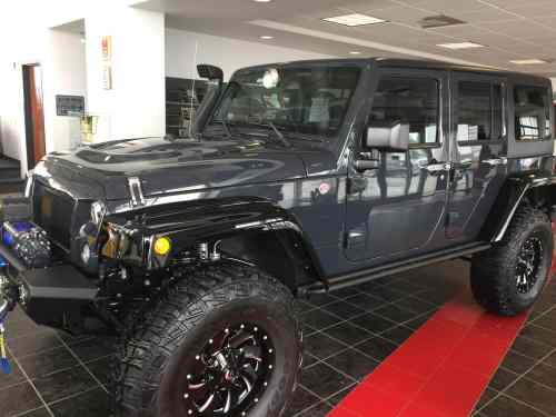 Custom Jeep Fremont