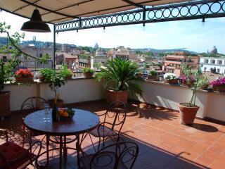 Unique Terrace Over Rome