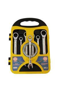 Κλειδιά καστάνιας με σπαστό λαιμό σετ (7τεμ.) 8mm - 10mm - 12mm - 13mm - 14mm - 17mm - 19mm, code 002