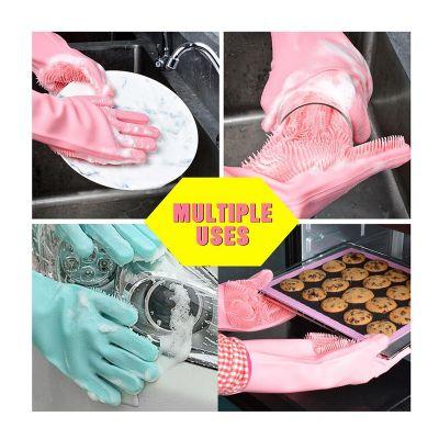 Γάντια σιλικόνης για την κουζίνα πολλαπλών χρήσεων MAGIC BRUSH