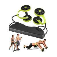 Όργανο γυμναστικής πολλαπλών χρήσεων αντίστασης με ρόδες και λάστιχα -Revoflex Xtreme