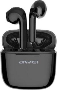 Ασύρματα ακουστικά Bluetooth Stereo Earbuds με θήκη φόρτισης-Μαύρο-AWEI TWS T28