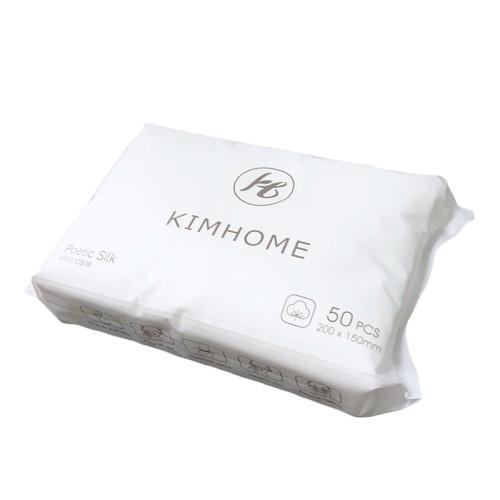 Βαμβακερή πετσέτα καθαρισμού προσώπου 200*150mm 100τμχ - KIMHOME