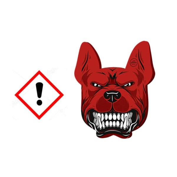Αρωματικό αυτοκινήτου κρεμαστό aroma angry dogs pitbull black