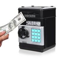 Hλεκτρονικός κουμπάρος με κωδικό ασφαλείας - Number bank μαύρο
