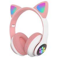 Ασύρματα ακουστικά - Cat Headphones - STN28 - 000008 - Pink