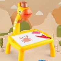Παιδικό γραφείο ζωγραφικής με προτζέκτορα - OEM