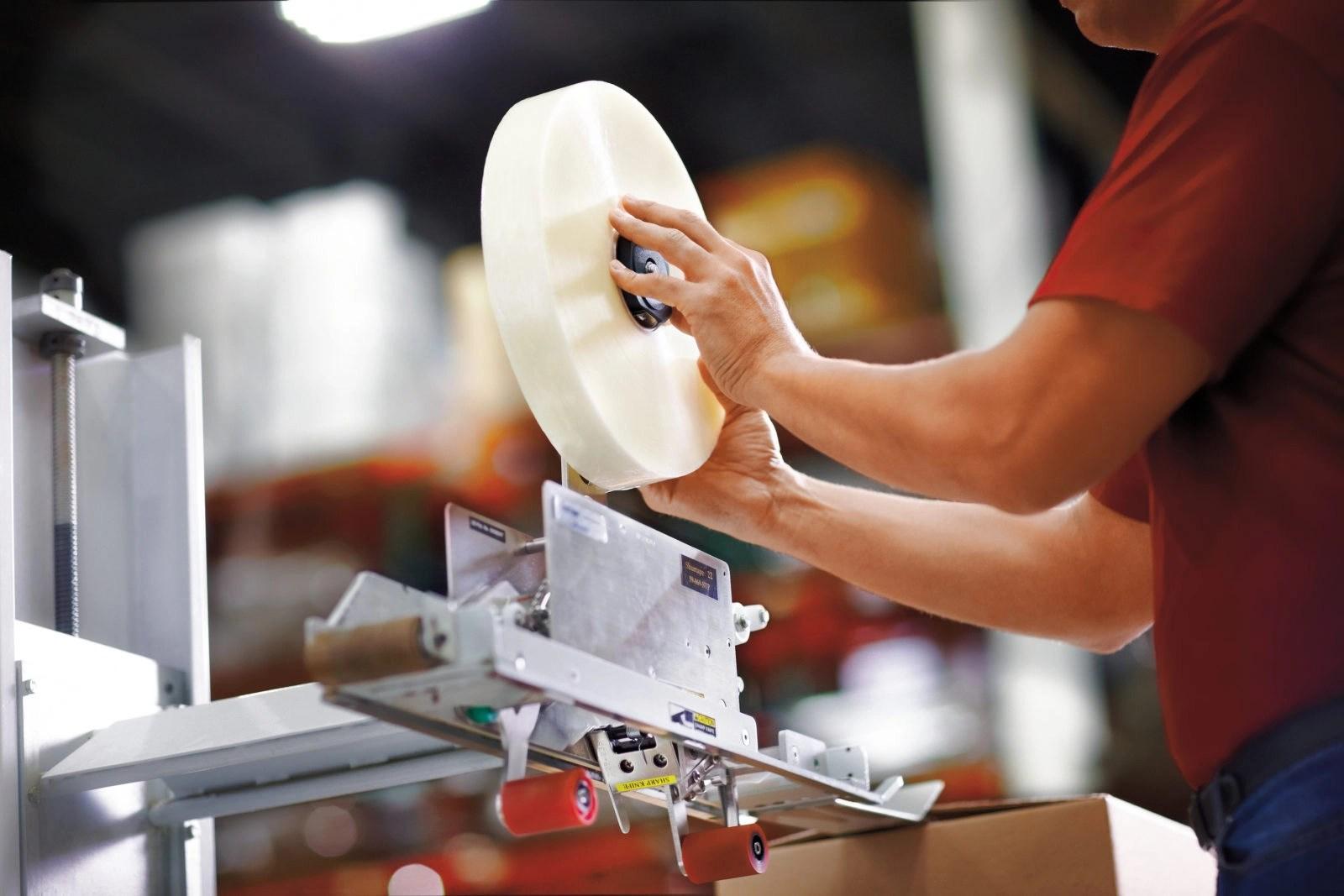 industrial packaging tape head