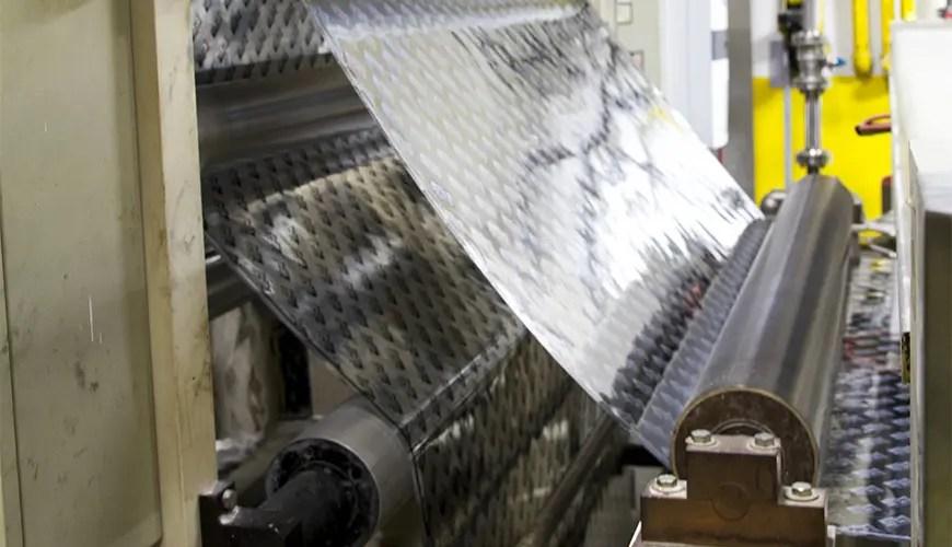 HVAC tape manufacturing - Film backing
