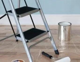 How do I prep a room to apply painter's tape?