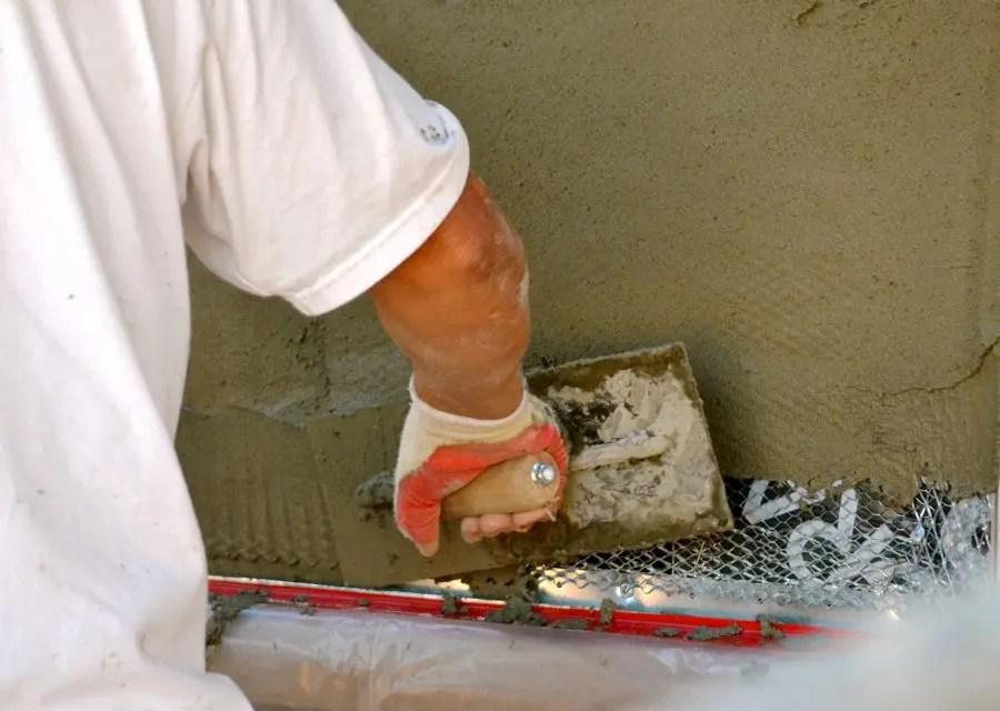 What does stucco tape failure look like?
