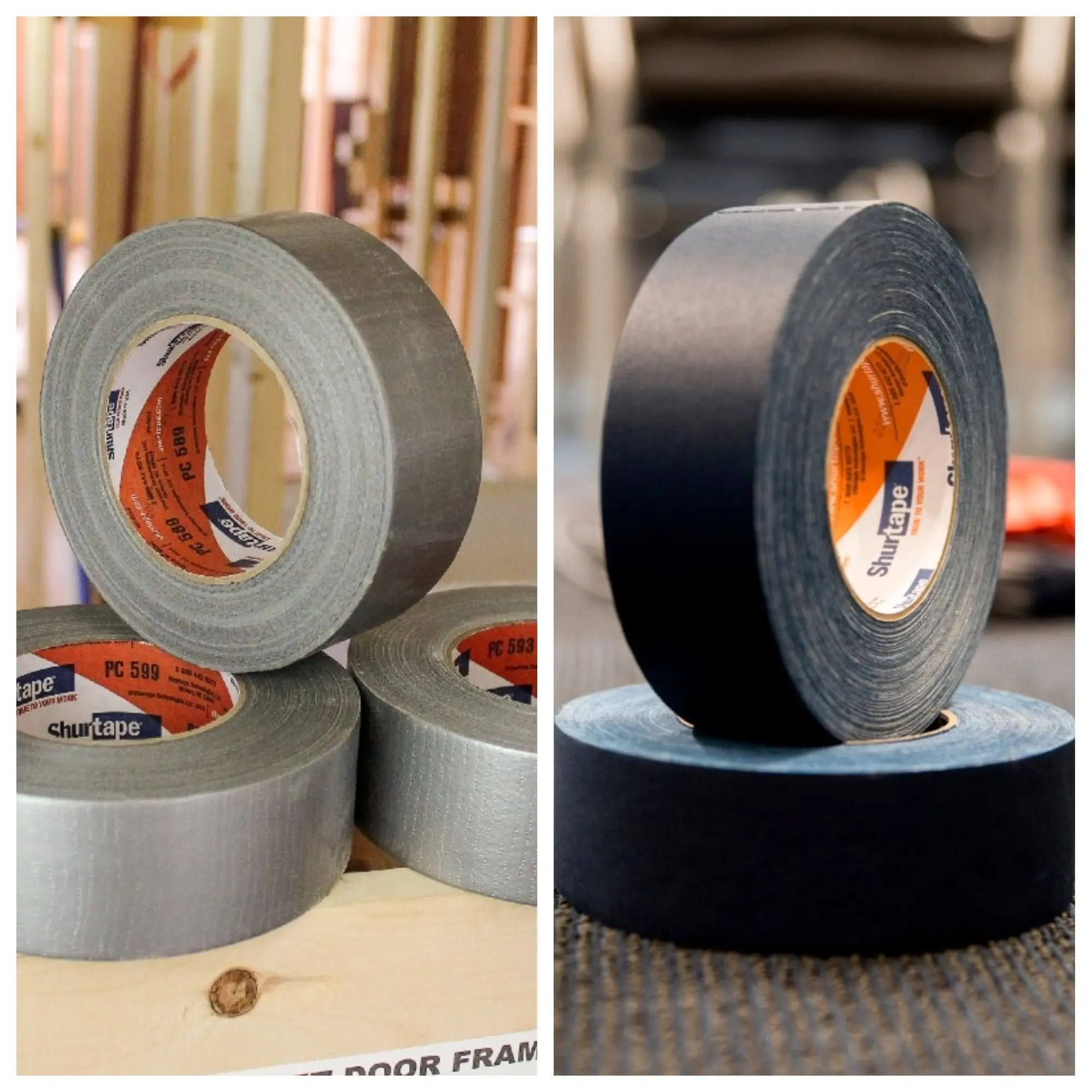 Difference between duct and gaffers tape