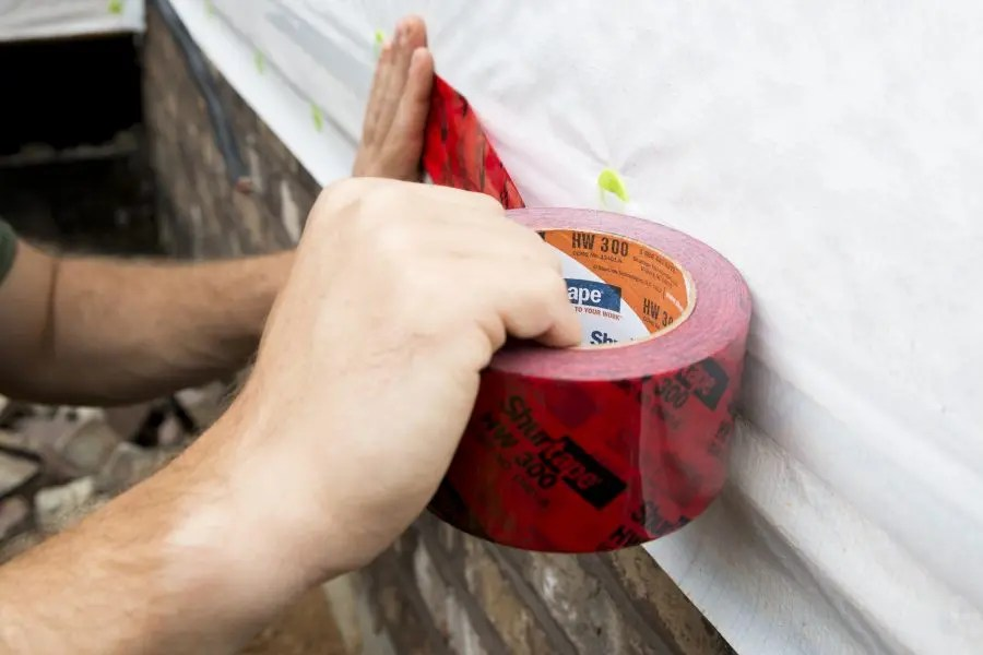 what is the purpose of housewrap tape