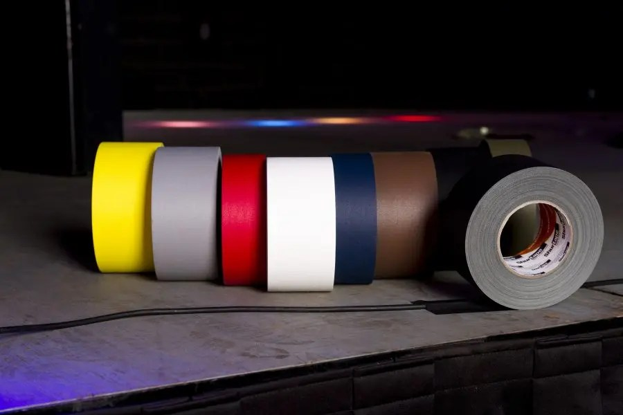 what is the purpose of colored gaffers tape