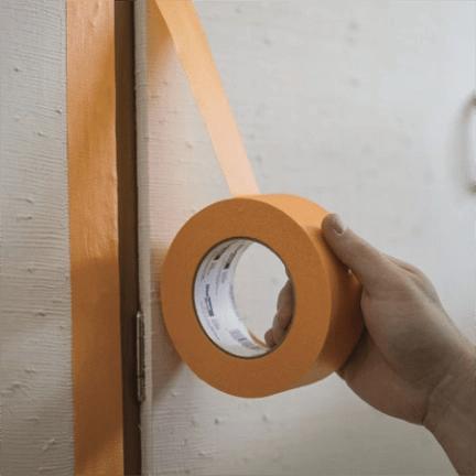 shurtape orange tape roll