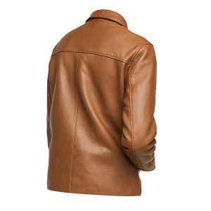 Brown Mens Leather Fashion Jacket1