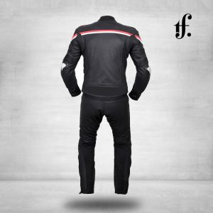Customized Mens Motorcycle Leather Racing Suit