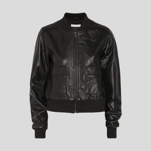 Women Bomber Real Leather Jackets