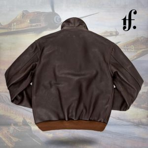 40th Anniversary A2 Leather Bomber Flight Jacket